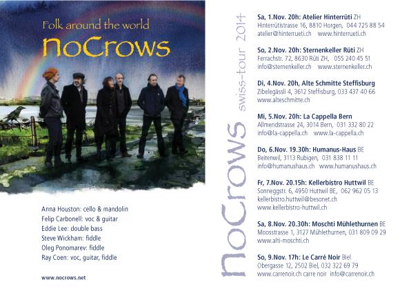 Flyer Swiss Tour 2014